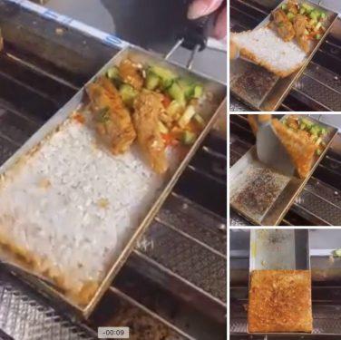 lhooun bếp chiên cơm cháy